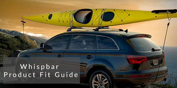 whispbar roof rack product fit guide
